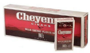Cheyenne Wild Cherry Little Filtered Cigars 10/20's