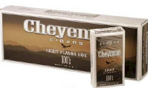 Cheyenne Light Filtered Cigar carton 200 cigars
