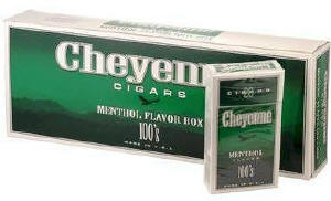 Cheyenne Menthol Filtered Cigars 10/20's