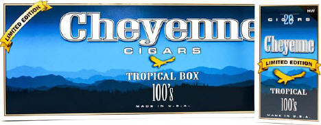 Cheyenne Tropical Filtered Cigars 10/20's