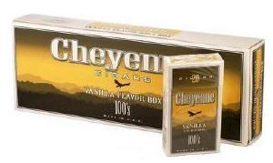 Cheyenne Vanilla Filtered Cigars 10/20's