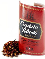 Captain Black Cherry Pipe Tobacco 1.5oz-6ct Pouch