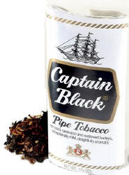 Captain Black White Pouch 1.5oz-6ct