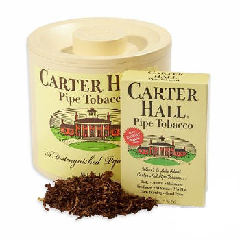 Carter Hall Pipe Tobacco 14oz cans & 1.5oz pouches