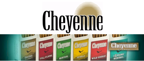 Cheyenne Menthol Little Filtered Cigars 10/20's - 200 cigars