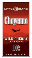 Cheyenne Wild Cherry Filtered Cigar carton 200 cigars
