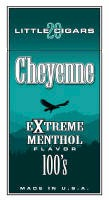 Cheyenne Extreme Menthol Filtered Cigar carton 200 cigars