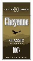 Cheyenne Light Filtered Cigar carton 200 cigars
