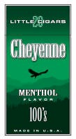 Cheyenne Menthol Filtered Cigar carton 200 cigars