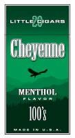 Cheyenne Menthol Filtered Cigar carton 200 cigars