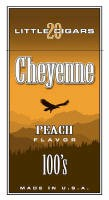 Cheyenne Peach Filtered Cigar carton 200 cigars
