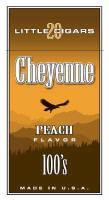 Cheyenne Peach Filtered Cigar carton 200 cigars