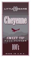 Cheyenne Sweet Tip Filtered Cigar carton 200 cigars