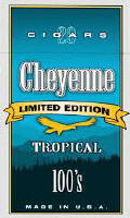 Cheyenne Tropical Filtered Cigar carton 200 cigars