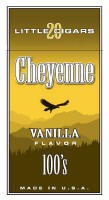 Cheyenne Vanilla Filtered Cigar carton 200 cigars