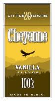 Cheyenne Vanilla Filtered Cigar carton 200 cigars