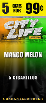 Good Times Mango Melon Cigarillos 15/5 (75 cigars)