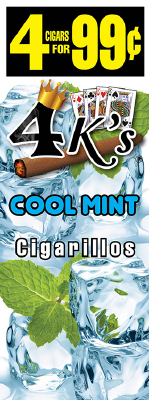 4 Kings Cool Mint Cigarillos 4 for 99 / 60ct