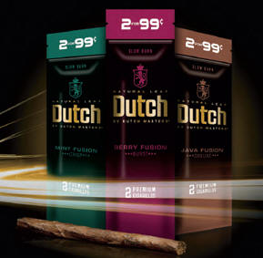 Dutch Masters Berry Fusion - Java Fusion - Mint Fusion Cigars 60ct