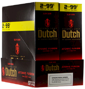 Dutch Masters Cigarillos Atomic Fusion 2 for 99¢ Cigars 60ct