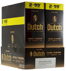 Dutch Masters Cigarillos Irish Fusion 2 for 99¢ Cigars 60ct