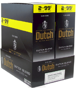 Dutch Masters Cigarillos Blend Silver 2 for 99¢ Cigars 60ct