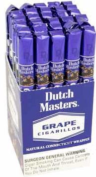 Dutch Masters Grape Cigarillo Cigars 30ct