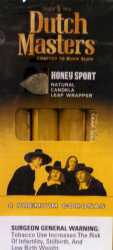 Dutch Masters Honey Sports Cigars Pack 5/4's