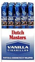 Dutch Masters Blue Vanilla Cigarillo Cigars 30ct