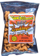 Dixon Central BBQ Cracklin Soft Stips 2oz