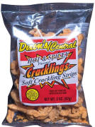 Dixon Central Hot & Spicy Cracklin Soft Stips 2oz