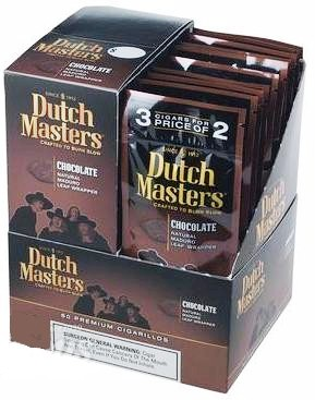 Dutch Masters Chocolate Cigarillos 60ct