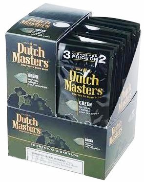 Dutch Masters Green Cigarillos 60ct