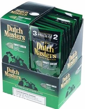 Dutch Masters Green Sweet Cigarillos 60ct
