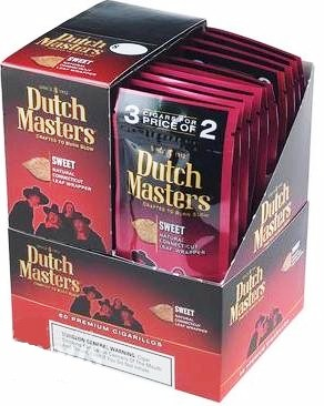 Dutch Masters Sweet Cigarillo Cigars 60ct