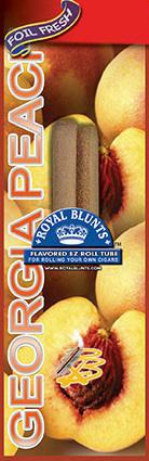 Royal Blunt EZ Roll Georgia Peach 25ct box
