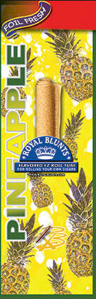 Royal Blunt EZ Roll Pineapple 25ct box