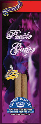 Royal Blunt EZ Roll Purple Haze Grape 25ct box