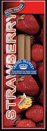 Royal Blunt EZ Roll Strawberry 25ct box