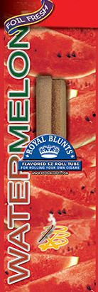 Royal Blunt EZ Roll Watermelon 25ct box
