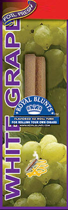Royal Blunt EZ Roll White Grape 25ct box