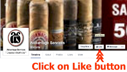 Like us on Facebook - receive a 10% Discount Coupon Code