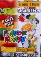 Good Times Flavor Krash Party Size Cigarillos 15/2's - 30 cigars