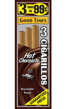 Good Times Hot Chocolate Cigarillos 3 for 99 - 45 cigars