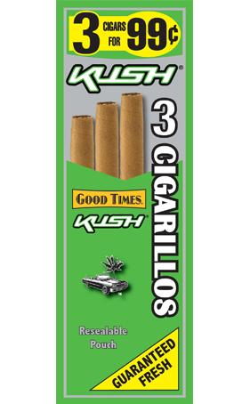 Good Times Kush Cigars Good Times Kush Cigarillo S 15 3