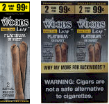 Good Times Sweet Woods Leaf Platinum 60ct Cigarillos