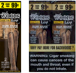 Good Times Sweet Woods Leaf Rum River 60ct Cigarillos