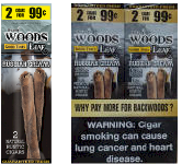 Good Times Sweet Woods Leaf Russian Cream 60ct Cigarillos