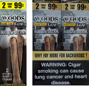 Good Times Woods Leaf Russian Cream 60ct Cigarillos