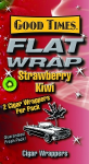 Good Times Strawberry Flat Wraps 2/25's 50ct